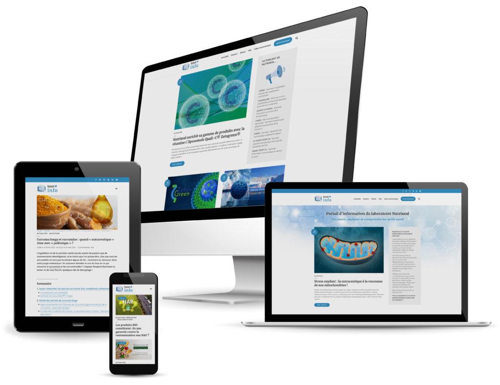 Nutrixeal Info responsive design